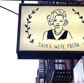 Restaurant Sign during the day