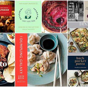 Grid of Photos, Cookbook, Food